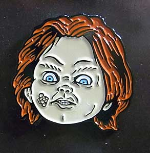LONDON 1888 ENAMEL PIN CHUCKY