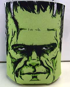 MONSTERS ARE GOOD. KOOZIE FRANKENSTEIN