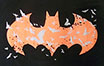 BATMAN LOGO RED GROW /バットマンロゴ 蓄光