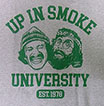 CHEECH & CHONG UP IN SMOKE UNIVERSITY   /チーチ&チョン (グレー)
