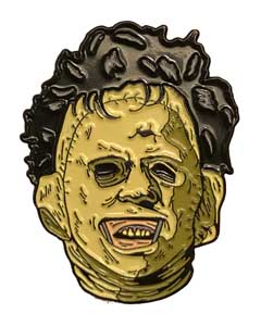 TRICK OR TREAT STUDIOS ENAMEL PIN THE TEXAS CHAINSAW MASSACRE LEATHERFACE