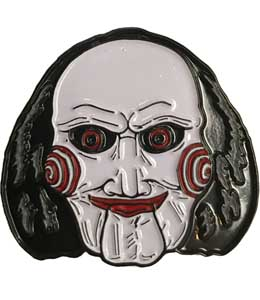 TRICK OR TREAT STUDIOS ENAMEL PIN SAW BILLY PUPPET