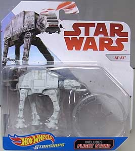 MATTEL HOT WHEELS STAR WARS DIE-CAST VEHICLE AT-AT 台紙傷み特価