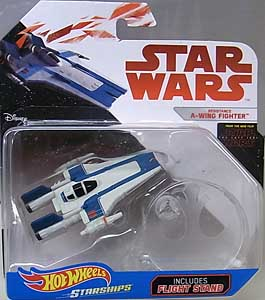 MATTEL HOT WHEELS STAR WARS DIE-CAST VEHICLE STAR WARS: THE LAST JEDI RESISTANCE A-WING FIGHTER