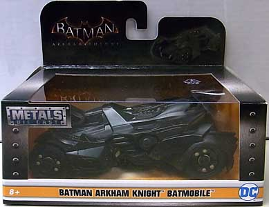 JADA TOYS BATMAN: ARKHAM KNIGHT METALS DIE CAST 1/32スケール BATMOBILE パッケージ傷み特価