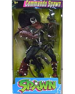 McFARLANE SPAWN COLOR TOPS 7インチアクションフィギュア COMMANDO SPAWN