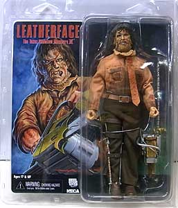 NECA THE TEXAS CHAINSAW MASSACRE 3 8インチドール LEATHERFACE