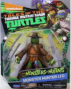 PLAYMATES NICKELODEON TALES OF THE TEENAGE MUTANT NINJA TURTLES ベーシックフィギュア 2017 MONSTERS + MUTANTS MONSTER HUNTER LEO