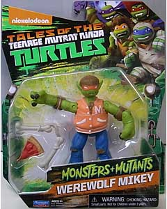 PLAYMATES NICKELODEON TALES OF THE TEENAGE MUTANT NINJA TURTLES ベーシックフィギュア 2017 MONSTERS + MUTANTS WEREWOLF MIKEY