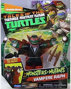 PLAYMATES NICKELODEON TALES OF THE TEENAGE MUTANT NINJA TURTLES ベーシックフィギュア 2017 MONSTERS + MUTANTS VAMPIRE RAPH
