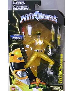 USA BANDAI POWER RANGERS LEGACY COLLECTION 6インチアクションフィギュア MIGHTY MORPHIN YELLOW RANGER [EXCLUSIVE WEAPONS]