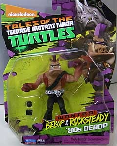 PLAYMATES NICKELODEON TALES OF THE TEENAGE MUTANT NINJA TURTLES ベーシックフィギュア 2017 WANTED: BEBOP & ROCKSTEADY 80s BEBOP