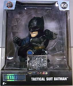 JADA TOYS 映画版 JUSTICE LEAGUE METALS DIE CAST 4インチフィギュア TACTICAL SUIT BATMAN