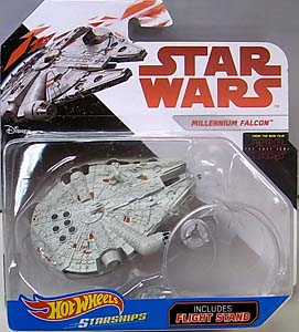 MATTEL HOT WHEELS STAR WARS DIE-CAST VEHICLE STAR WARS: THE LAST JEDI MILLENNIUM FALCON