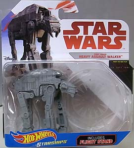 MATTEL HOT WHEELS STAR WARS DIE-CAST VEHICLE STAR WARS: THE LAST JEDI FIRST ORDER HEAVY ASSAULT WALKER