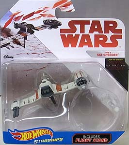 MATTEL HOT WHEELS STAR WARS DIE-CAST VEHICLE STAR WARS: THE LAST JEDI POE'S SKI SPEEDER
