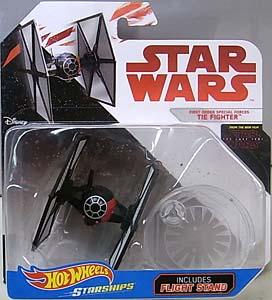 MATTEL HOT WHEELS STAR WARS DIE-CAST VEHICLE STAR WARS: THE LAST JEDI FIRST ORDER TIE FIGHTER