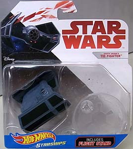 MATTEL HOT WHEELS STAR WARS DIE-CAST VEHICLE DARTH VADER'S TIE FIGHTER