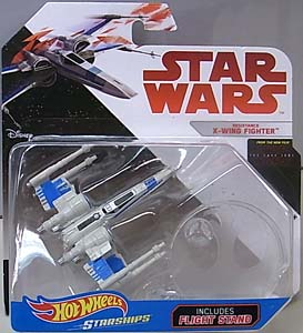 MATTEL HOT WHEELS STAR WARS DIE-CAST VEHICLE STAR WARS: THE LAST JEDI RESISTANCE X-WING FIGHTER