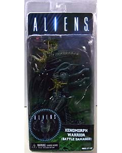 NECA ALIEN 7インチアクションフィギュア シリーズ12 ALIENS XENOMORPH WARRIOR BATTLE DAMAGED [BLUE]