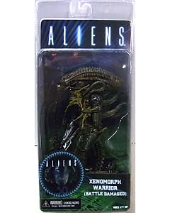 NECA ALIEN 7インチアクションフィギュア シリーズ12 ALIENS XENOMORPH WARRIOR BATTLE DAMAGED [BROWN]