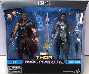 HASBRO MARVEL LEGENDS 2017 2PACK 映画版 THOR: RAGNAROK THOR & VALKYRIE