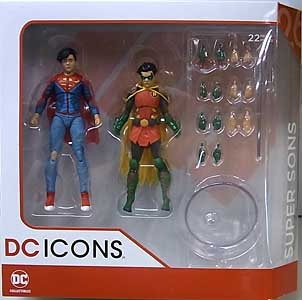 DC COLLECTIBLES DC ICONS SUPER SONS 2PACK