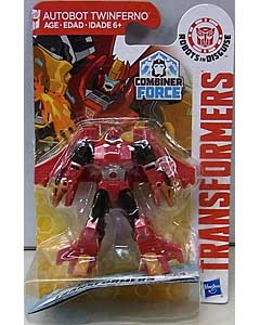 HASBRO アニメ版 TRANSFORMERS ROBOTS IN DISGUISE COMBINER FORCE LEGION CLASS AUTOBOT TWINFERNO