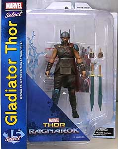 DIAMOND SELECT MARVEL SELECT 映画版 THOR: RAGNAROK GLADIATOR THOR