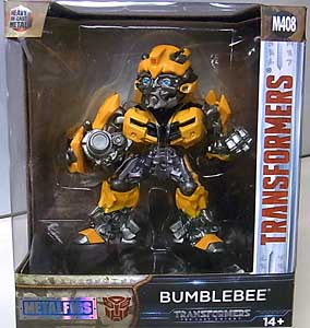 JADA TOYS 映画版 TRANSFORMERS: THE LAST KNIGHT METALS DIE CAST 4インチフィギュア BUMBLEBEE