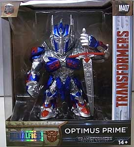 JADA TOYS 映画版 TRANSFORMERS: THE LAST KNIGHT METALS DIE CAST 4インチフィギュア OPTIMUS PRIME