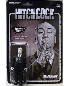 SUPER 7 REACTION FIGURES 3.75インチアクションフィギュア ALFRED HITCHCOCK [GRAYSCALE]