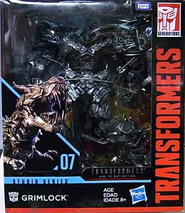 HASBRO TRANSFORMERS STUDIO SERIES LEADER CLASS GRIMLOCK #07 パッケージ傷み特価