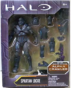 MATTEL HALO 6インチアクションフィギュア SPARTAN LOCKE [ALPHA CRAWLER SERIES]