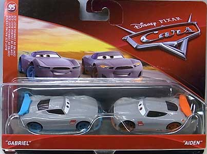 MATTEL CARS 2018 2PACK GABRIEL & AIDEN 台紙傷み特価