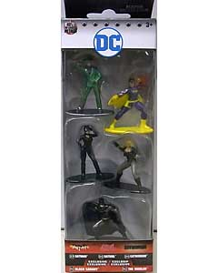JADA TOYS DC NANO METALFIGS BATMAN 5PACK [PACK A]