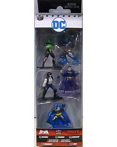 JADA TOYS DC NANO METALFIGS BATMAN 5PACK [PACK B]