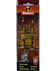 JADA TOYS DISNEY NANO METALFIGS INCREDIBLES 2 5PACK