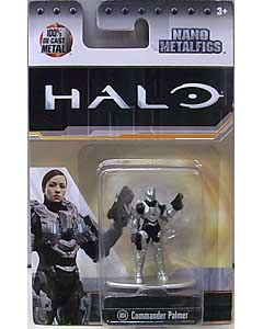 JADA TOYS HALO NANO METALFIGS COMMANDER PALMER [MS4]