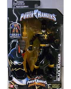 USA BANDAI POWER RANGERS LEGACY COLLECTION 6インチアクションフィギュア DINO THUNDER BLACK RANGER