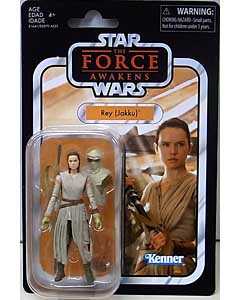HASBRO STAR WARS 3.75インチアクションフィギュア THE VINTAGE COLLECTION 2018 REY (JAKKU) [THE FORCE AWAKENS]