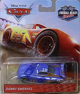 MATTEL CARS 2018 FIREBALL BEACH RACERS シングル DANNY SWERVEZ