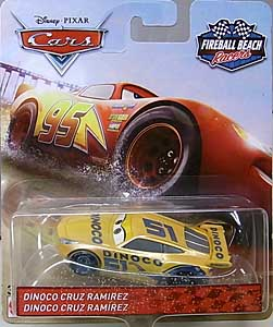 MATTEL CARS 2018 FIREBALL BEACH RACERS シングル DINOCO CRUZ RAMIREZ