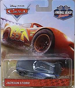 MATTEL CARS 2018 FIREBALL BEACH RACERS シングル JACKSON STORM