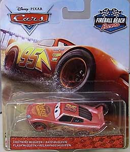 MATTEL CARS 2018 FIREBALL BEACH RACERS シングル LIGHTNING McQUEEN