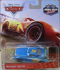 MATTEL CARS 2018 FIREBALL BEACH RACERS シングル MICHAEL ROTOR