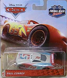 MATTEL CARS 2018 FIREBALL BEACH RACERS シングル PAUL CONREV