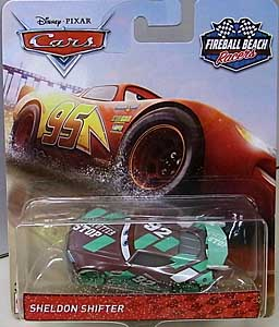 MATTEL CARS 2018 FIREBALL BEACH RACERS シングル SHELDON SHIFTER