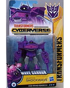 HASBRO アニメ版 TRANSFORMERS CYBERVERSE WARRIOR CLASS DECEPTICON SHOCKWAVE