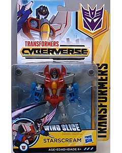 HASBRO アニメ版 TRANSFORMERS CYBERVERSE WARRIOR CLASS STARSCREAM